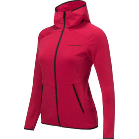 Peak Performance Helo Chaqueta jersey con capucha Mujer, true pink